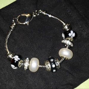 CHARM BRACELET, compatible, small woman or teen